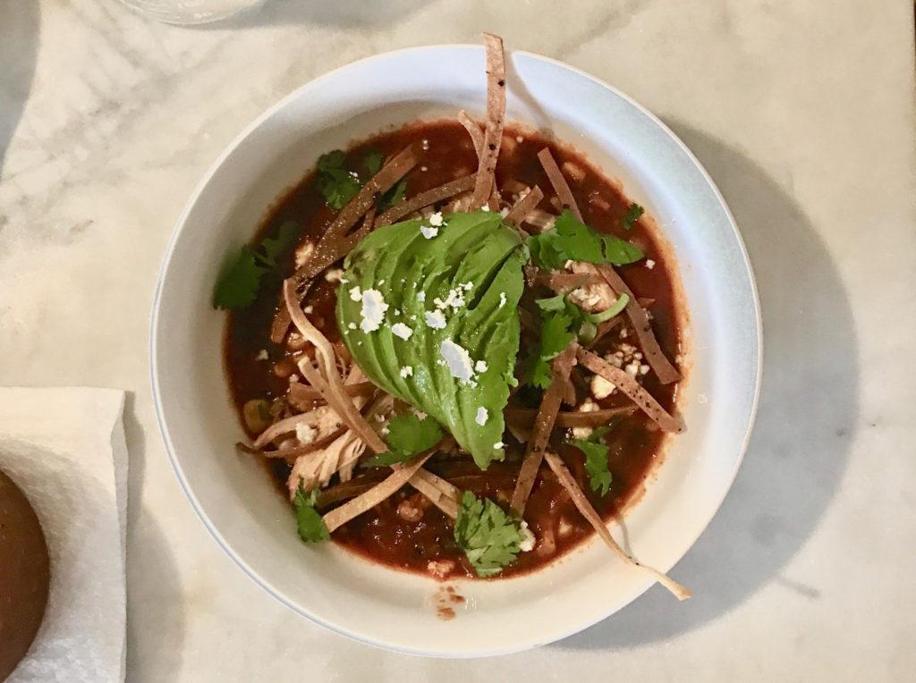 Huckleberry's Mexican Tortilla Soup